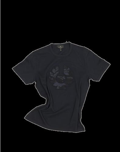 Belstaff Applique Camo T-Shirt Man, dark ink