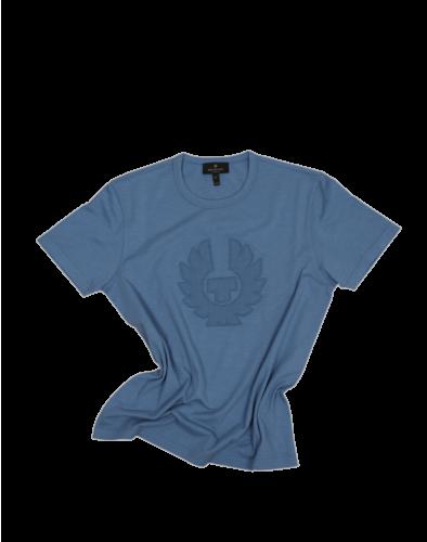 Belstaff Applique T-Shirt Man, airforce blue
