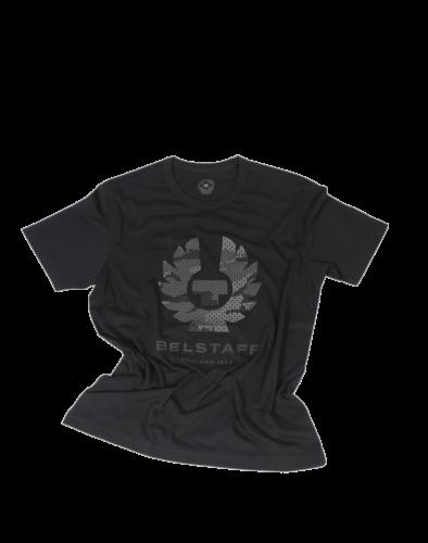 Belstaff Camo Searchlight Phoenix T-Shirt Man, black