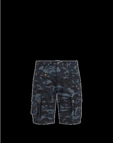 Belstaff Castmaster Camo Shorts, dark ink