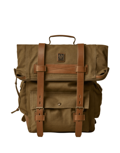 Belstaff Covert Canvas Backpack, beige