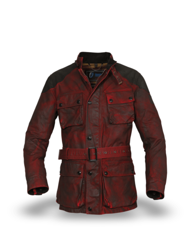 Belstaff Enduro Trialmaster Jacket Man, Belstaff Red/black