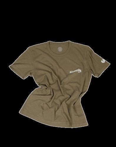 Belstaff Flame Tiger T-Shirt Man, salvia