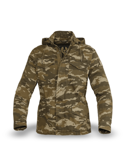Belstaff Fieldwood Camo Jacket Man, military olive