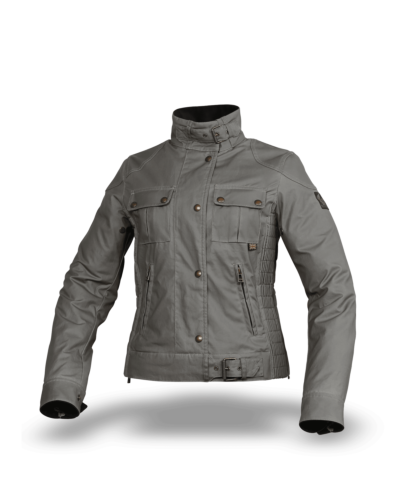 Belstaff Gangster Wax Jacket Lady, granite grey