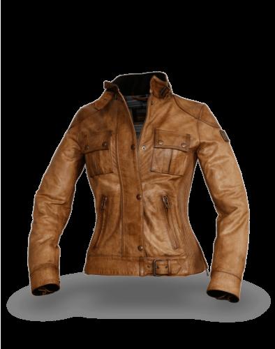Belstaff Gangster Jacket Lady, burnished gold