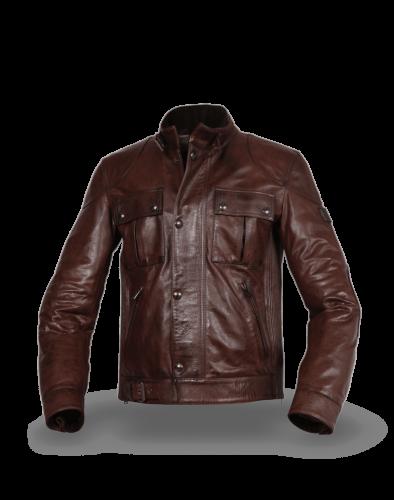 Belstaff Gangster 2.0 Jacket Man, dark amarone