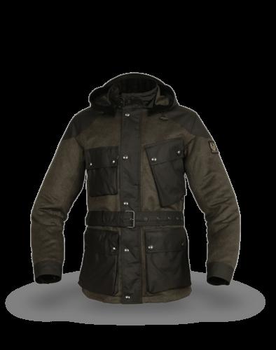 Belstaff Landsman Jacket Man, faded olive/salvia