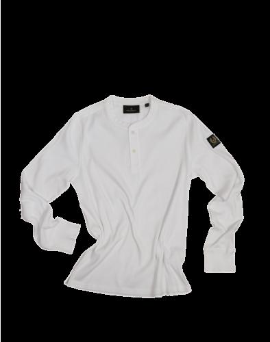 Belstaff Lydden Henley Shirt Man, white