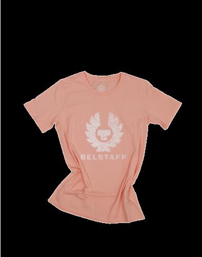 Belstaff Mariola Phoenix T-Shirt Lady, bisque/vapour white
