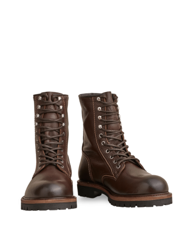 Belstaff Marshall Lace Up Boot Man, cognac