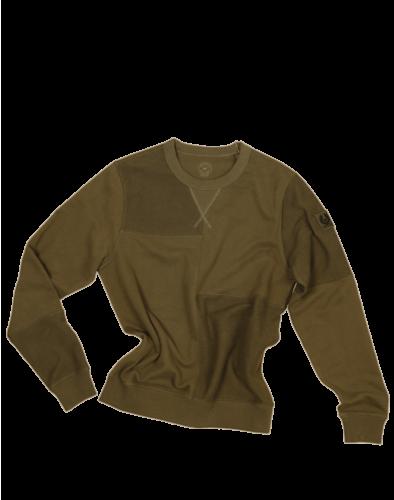 Belstaff Patchwork Sweatshirt Man, salvia