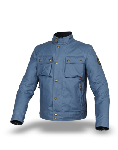 Belstaff Racemaster Jacket Man, airforce blue