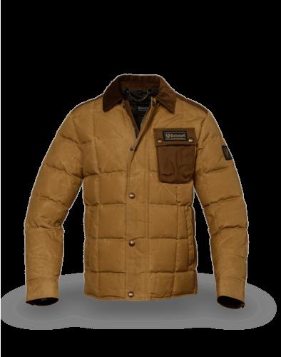 Belstaff Ranger Jacket Man, vintage khaki/dark terracotta