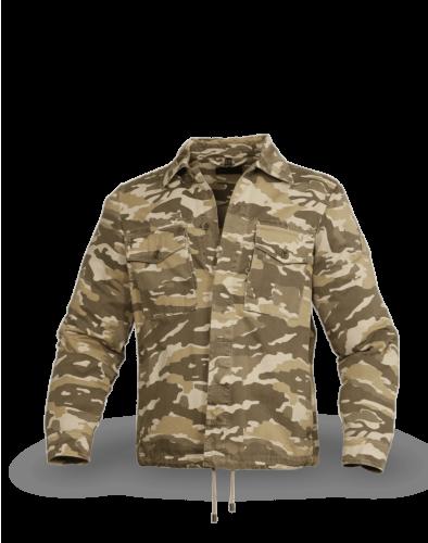 Belstaff Recon Camo Overshirt Man, tarp/khaki