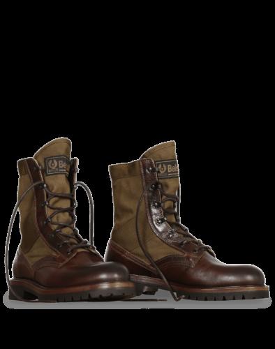 Belstaff Trooper Lace Up Boot Man, cognac
