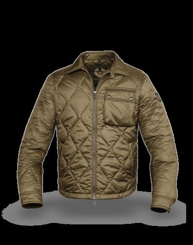 Belstaff Wayfare Quilted Jacket Man, salvia