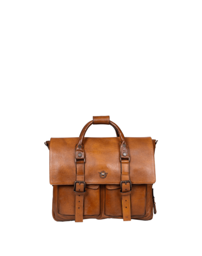 Matchless New Courier Backpack, antique cuero