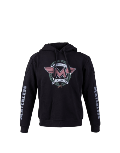 Matchless Plumstead Hood 120 Years Sweatshirt Man, black