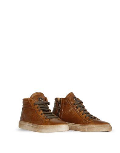 Matchless Smith Sneakers Lady, antique cuero