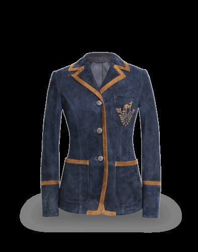 Meindl Ladies Kings Club Jacket by Lena Hoschek, navy blue
